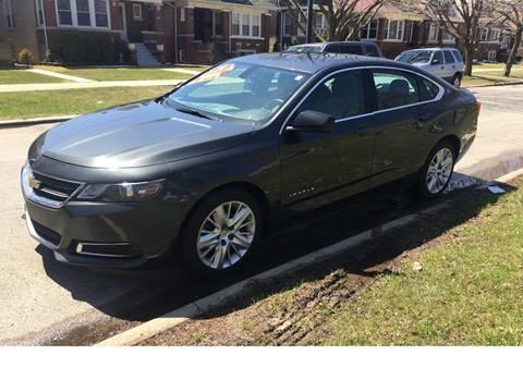 2014 Chevrolet Impala for sale at Apollo Motors INC in Chicago IL