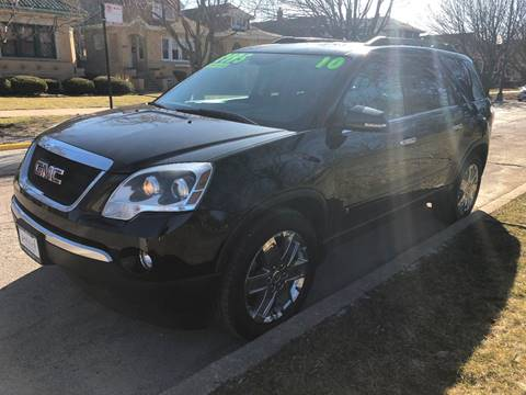 2010 GMC Acadia for sale in Chicago, IL