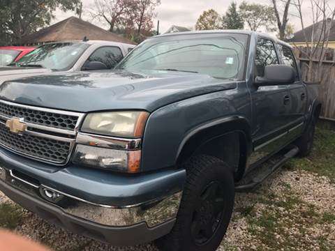 2006 chevrolet silverado 1500 for sale in south houston tx. Black Bedroom Furniture Sets. Home Design Ideas