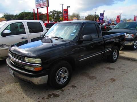 2002 Chevrolet Silverado 1500 for sale in South Houston, TX