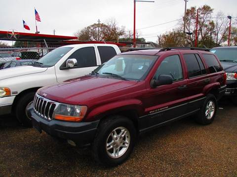 2002 Jeep Grand Cherokee for sale in South Houston, TX