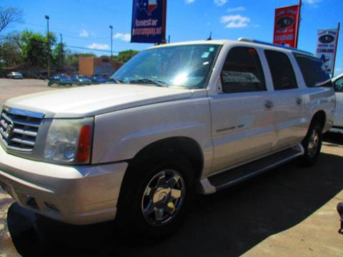2005 Cadillac Escalade ESV for sale in South Houston, TX