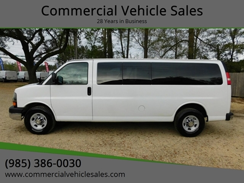 2011 Chevrolet Express Passenger for sale in Ponchatoula, LA
