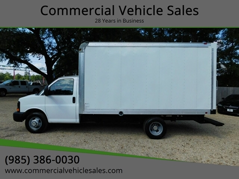 2015 Chevrolet Express Cutaway for sale in Ponchatoula, LA