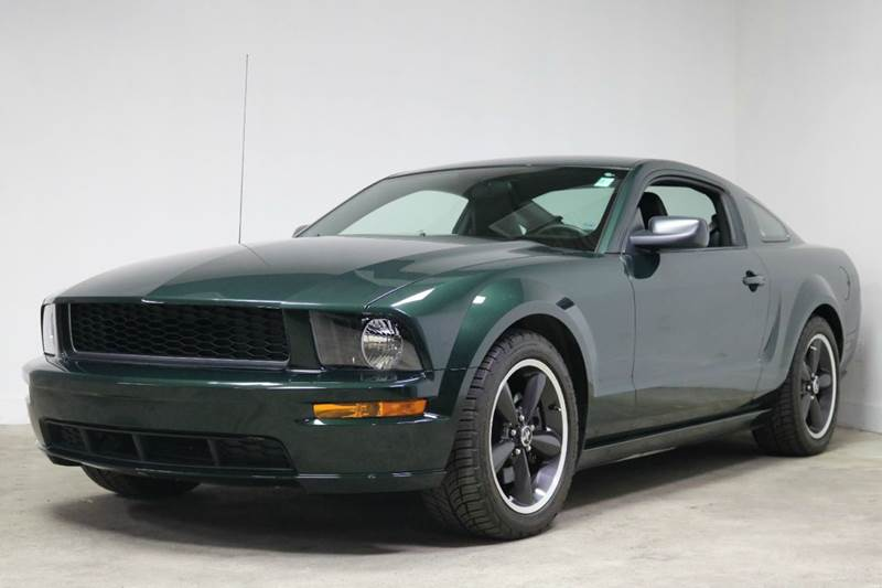 2008 ford mustang bullitt 2dr fastback in troy mi city of cars. Black Bedroom Furniture Sets. Home Design Ideas