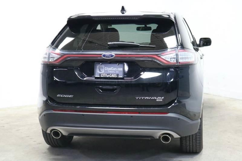 2016 Ford Edge Awd Titanium 4dr Crossover In Troy Mi