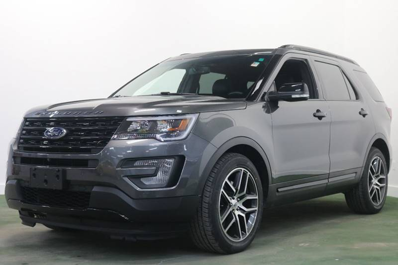 2016 ford explorer awd sport 4dr suv in troy mi city of cars. Black Bedroom Furniture Sets. Home Design Ideas
