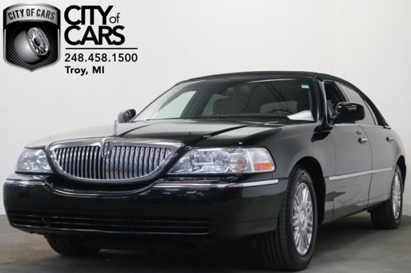 2011 Lincoln Town Car Signature L 4dr Sedan In Troy Mi City Of Cars