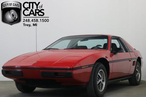 1985 Pontiac Fiero for sale in Troy, MI