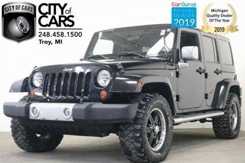 2012 Jeep Wrangler Unlimited for sale in Troy, MI