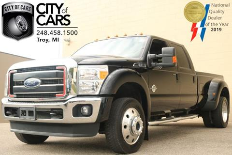 2016 Ford F-450 Super Duty for sale in Troy, MI