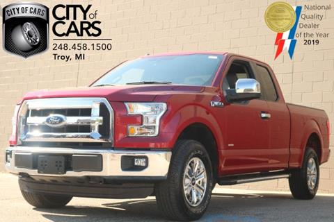 2016 Ford F-150 for sale in Troy, MI