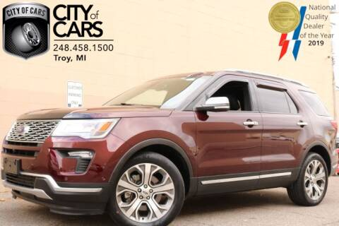 2018 Ford Explorer for sale in Troy, MI