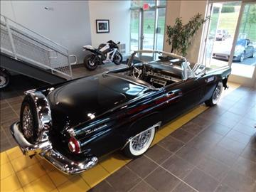 1956 Ford Thunderbird PW PL PS for sale at Motorcars Washington in Chantilly VA