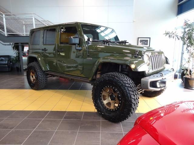 2016 Jeep Wrangler Unlimited for sale at Motorcars Washington in Chantilly VA