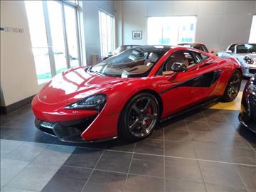 2016 McLaren 570S for sale at Motorcars Washington in Chantilly VA