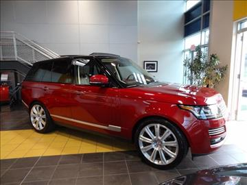 2015 Land Rover Range Rover for sale at Motorcars Washington in Chantilly VA