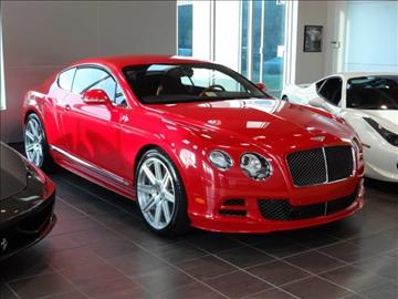 2015 Bentley Continental GT Speed for sale at Motorcars Washington in Chantilly VA
