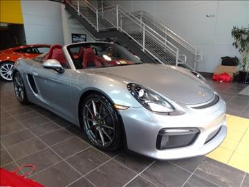 2016 Porsche Boxster for sale at Motorcars Washington in Chantilly VA