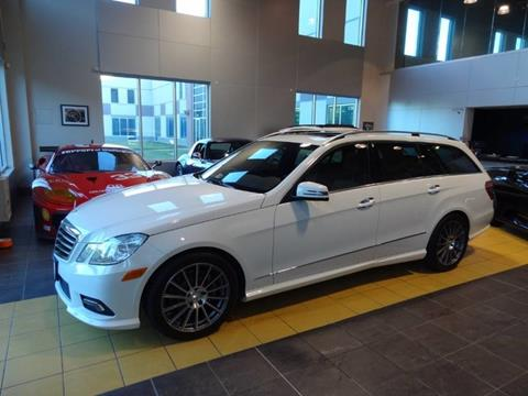 2011 Mercedes-Benz E-Class for sale at Motorcars Washington in Chantilly VA