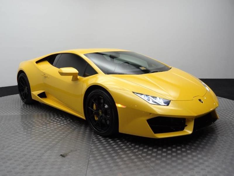 2017 Lamborghini Huracan for sale at Motorcars Washington in Chantilly VA