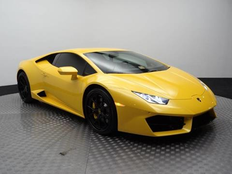 2017 Lamborghini Huracan for sale at Motorcars Washington in Chantilly VA