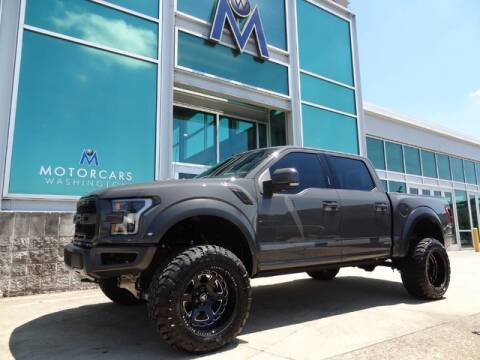 2020 Ford F-150 Raptor for sale at Motorcars Washington in Chantilly VA