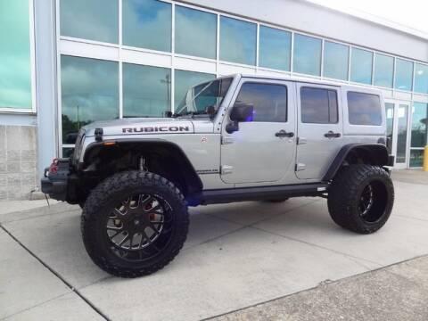 2017 Jeep Wrangler Unlimited Rubicon Hard Rock for sale at Motorcars Washington in Chantilly VA