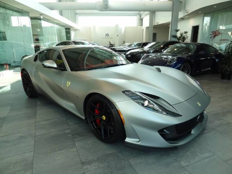 2018 Ferrari 812 Superfast for sale at Motorcars Washington in Chantilly VA