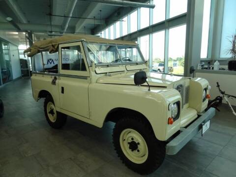 1972 Land Rover Series IIa 88 Soft top for sale at Motorcars Washington in Chantilly VA