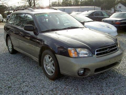 2002 Subaru Outback for sale at Triad Auto Direct in Greensboro NC