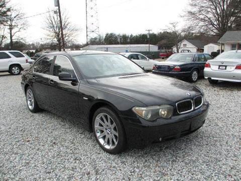 2002 BMW 7 Series for sale at Triad Auto Direct in Greensboro NC