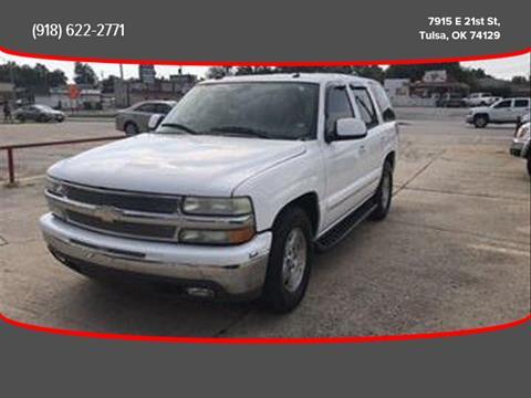 2004 Chevrolet Tahoe for sale in Tulsa, OK