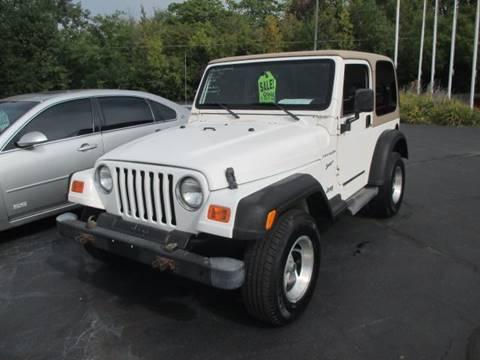 2002 Jeep Wrangler for sale in Racine, WI