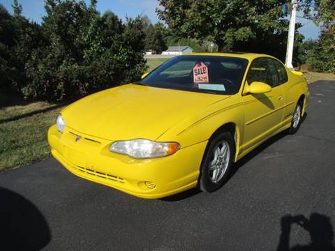 2002 Chevrolet Monte Carlo for sale in Racine, WI