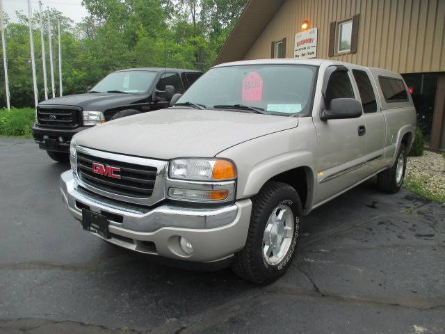 2006 Gmc Sierra 1500 Sle1 4dr Extended Cab 4wd 6 5 Ft Sb In Racine
