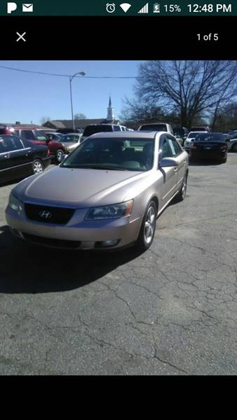 2006 Hyundai Sonata LX 4dr Sedan - Greenville SC