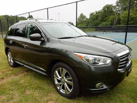 2013 Infiniti JX35 for sale at Village Auto Sales in Milford CT