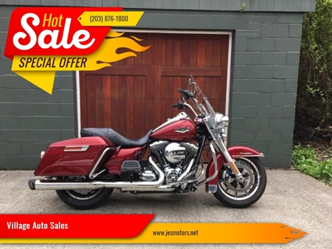 2016 Harley Davidson Road King for sale in Milford, CT