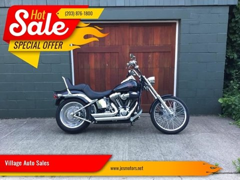 2009 Harley Davidson Softail Custom for sale in Milford, CT