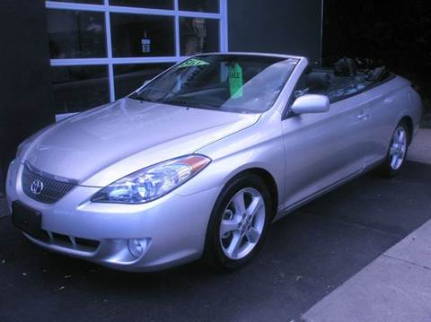 2004 Toyota Camry Solara for sale at Village Auto Sales in Milford CT