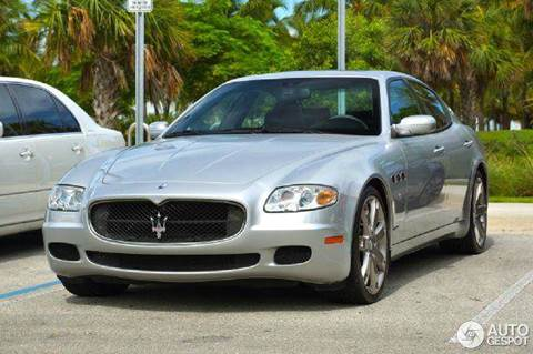 2007 Maserati Quattroporte for sale at Village Auto Sales in Milford CT
