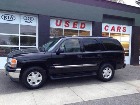 2006 GMC Yukon for sale at Village Auto Sales in Milford CT