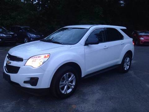 2013 Chevrolet Equinox for sale at Village Auto Sales in Milford CT