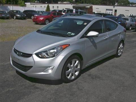 2012 Hyundai Elantra for sale at Village Auto Sales in Milford CT