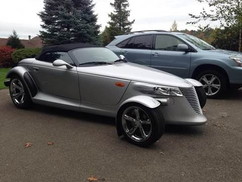 2001 Plymouth Prowler for sale at Village Auto Sales in Milford CT