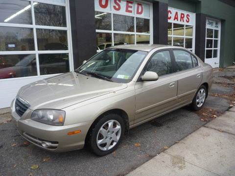 2005 Hyundai Elantra for sale at Village Auto Sales in Milford CT