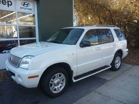 2004 Mercury Mountaineer for sale at Village Auto Sales in Milford CT