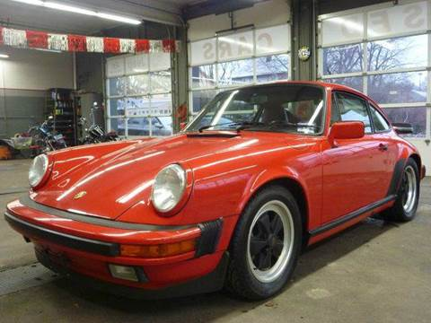 1988 Porsche 911 for sale at Village Auto Sales in Milford CT