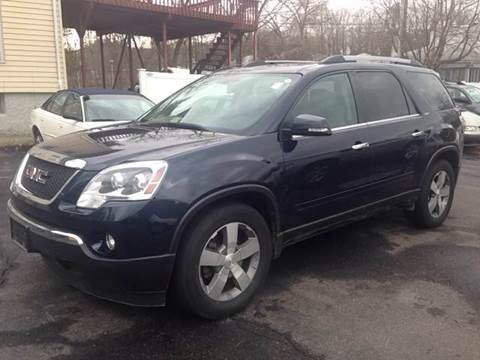 2011 GMC Acadia for sale at Village Auto Sales in Milford CT